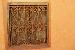 antikt färgrikt fönster Royaltyfria Bilder