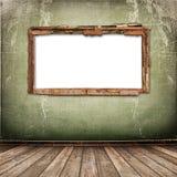 antikt gammalt väggfönster Arkivbilder