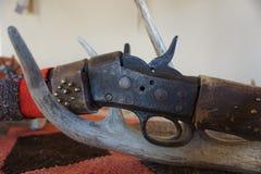Antikt gevär Arkivbilder