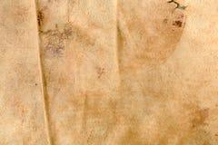 Antikt läder texturerad bakgrund Arkivbilder