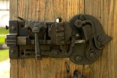 antikt lås Arkivbild