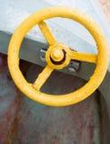 Antikt metallhjul Fotografering för Bildbyråer