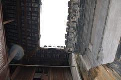 Antikt tak för traditionell kines Arkivfoto