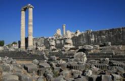 antikt tempel för apollo stadsdidyma Royaltyfria Foton