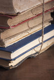 antikvariska böcker Royaltyfria Foton