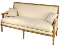 antikvitet isolerad sofa Royaltyfri Fotografi