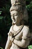 Antikvitet sniden träskulptur av Thailand Royaltyfri Fotografi