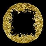 antikvitet som blom- rammodellsilver royaltyfria bilder