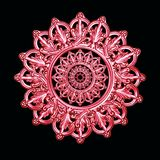 antikvitet som dekorativ elementsilver Royaltyfri Bild