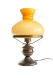 antikvitet som den isolerade stylized tabellen för lampa olja Royaltyfri Fotografi