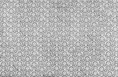 Antikvitet utskrivaven damast repetitionmodell Fotografering för Bildbyråer