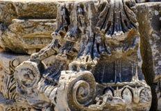 Antikviteten anmärker och strukturer i den Ephesus närbilden, Selcuk, Turkiet royaltyfri foto