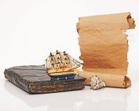 Antikviteten bokar royaltyfri fotografi