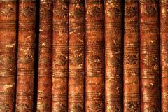 Antikviteten bokar Byron arkivbilder