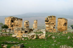 Antikviteten fördärvar av Hierapolis royaltyfri bild