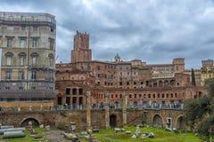Antikviteten fördärvar i Rome, Italien royaltyfri fotografi