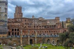 Antikviteten fördärvar i Rome, Italien royaltyfria foton