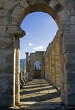 antikviteten fördärvar tempelet royaltyfri bild