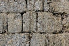 Antikviteten gör envist motstånd murverket texturerad bakgrund fotografering för bildbyråer