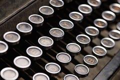 antikviteten keys skrivmaskinen arkivbilder