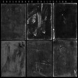 Antikviteten kritiserar svart tavlaserie 1 royaltyfri fotografi