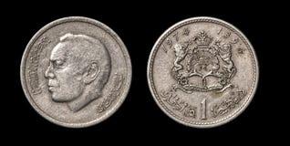 Antikviteten myntar av afrikanskt land royaltyfri fotografi