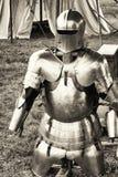Antikviteten passar av armoren fotografering för bildbyråer