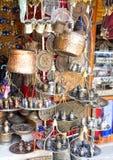 Antikviteten shoppar royaltyfri bild