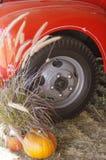 Antikviteten stoppar hjulet royaltyfri bild