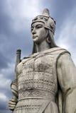 antikviteten tjäna som soldat kvinnan royaltyfri foto