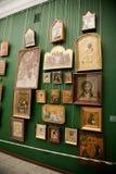 Antikviteter från Mezhyhyaen Ukraina Royaltyfria Foton