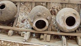 Antikviteter på den gamla barken Royaltyfria Foton