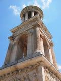 Antikviteterna av Glanum på Helgon-Rémy-de-Provence, Frankrike Arkivbilder