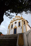 Antikvitetkyrka i Fernando de Noronha, Brasilien Royaltyfri Fotografi