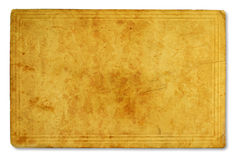 Antikvitetpapperstextur Arkivfoton