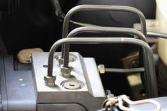 Antilock braking system abs, closeup Royalty Free Stock Images