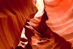 antiloparizona kanjon berömda USA Arkivfoto
