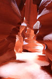 Antilope Canyon.Page Stock Afbeelding
