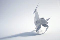 Antilope di origami Fotografia Stock Libera da Diritti