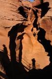 Antilopen-Schlucht, AZ Stockbild