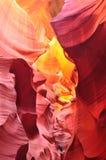 Antilopkanjon, Arizona USA Fotografering för Bildbyråer