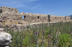 Antimachia castle at Kos island, Greece Stock Images