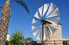 Antimachia windmill,Kos, Stock Image