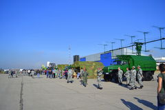 Antimissile equipment Air show Sofia,Bulgaria Stock Photography