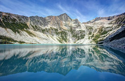Antimony Lake. Royalty Free Stock Images