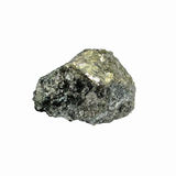 Antimony metal. Antimony, minor metals on white background Royalty Free Stock Photos