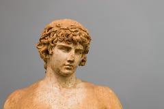 Antinoos του αγάλματος των Δελφών Στοκ Φωτογραφίες
