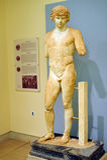 Antinoos staty royaltyfria foton