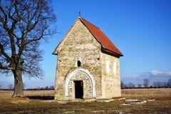 Antioch圣玛格丽特教会,在其中任一KopÄ 附近,斯洛伐克, 库存照片