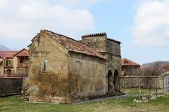 Antioch教会在姆茨赫塔,乔治亚的古都 免版税图库摄影